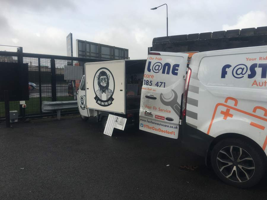 Catering Trailer Repairs North West